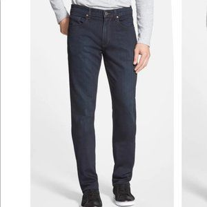Paige Federal Slim Straight Leg Jeans Cellar Blue